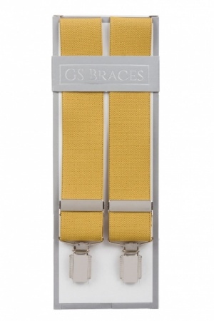 Mustard Yellow Braces